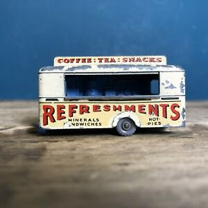 Matchbox-Lesney-MB-74-Mobile-refresco-Canteen-Raro-Rosado-Crema