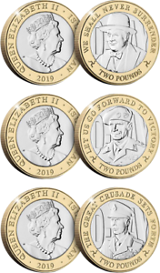 Isle-of-Man-2019-The-75th-Anniversary-of-D-Day-Three-2-Coin-Collection