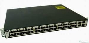 Cisco-WS-C3750-48PS-E-Catalyst-3750-48-ports-10-100-PoE-amp-4-SFP-Uplinks-Switch