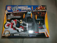 Wwe Stack Down 21011 Undertaker's Entrance 122 Pc Sealed