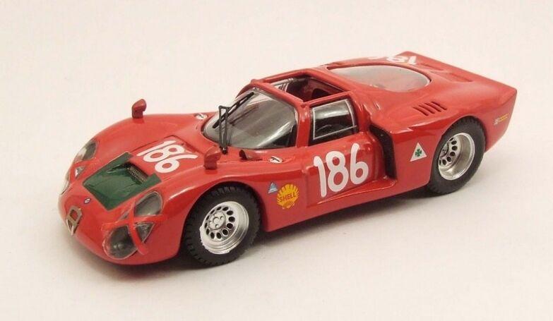 connotación de lujo discreta BEST MODEL 9422 - Alfa Romeo 33.2 Spyder Spyder Spyder N°186 1968 Galli 1 43  minorista de fitness