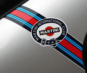 MARTINI-CLUB-style-039-Flashes-039-logo-stripes-PORSCHE-FIAT-ABARTH-LANCIA-ALFA-ROMEO