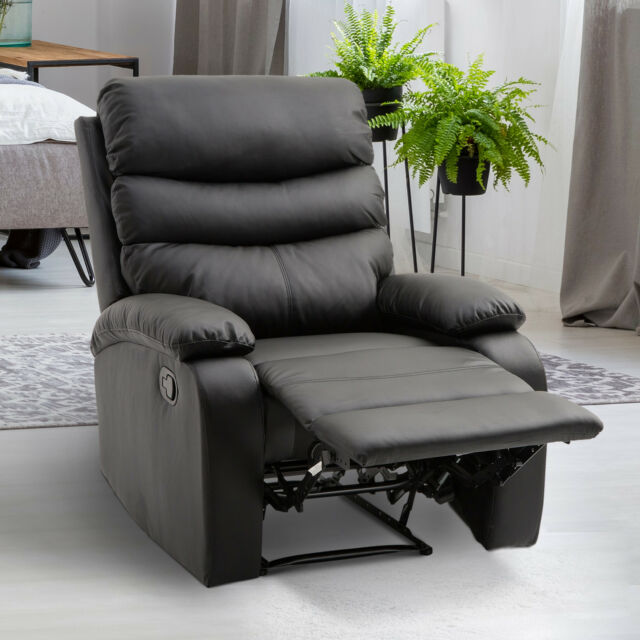 Homcom Liegesessel Relaxsessel Sessel Liegefunktion Neigungswinkel