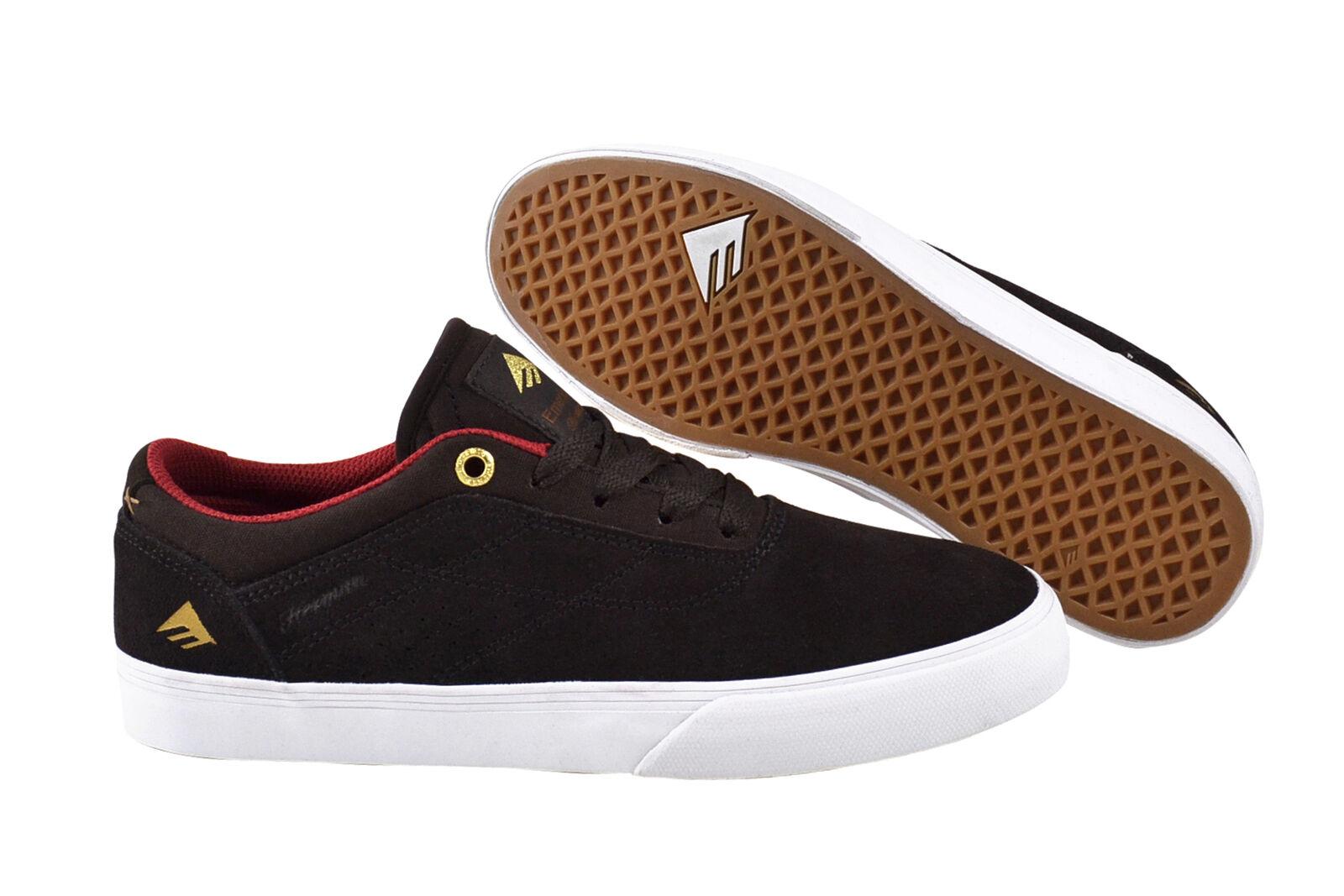 Emerica The Herman G6 Vulc brown white Sneaker Schuhe braun