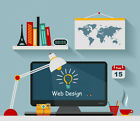 5 PAGES BESPOKE CUSTOM WEBSITE WEB DESIGN