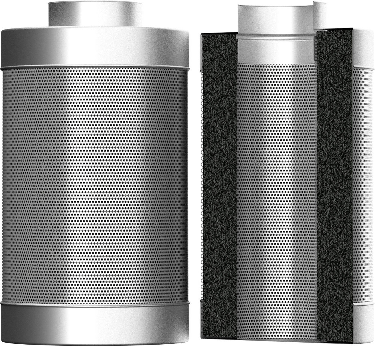 Systemair Carbo Air 50 10  250mm 500mm Carbon Filter Hydroponics