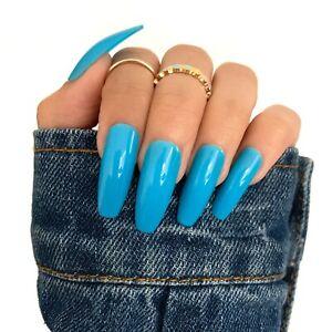 Amazon.com : CoolNail Warm Velvet Fake Nails White Matte