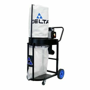 Delta 50 723 1hp Motor Extreme Mobile Dust Collector