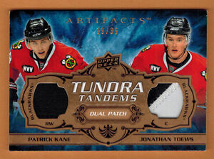 2008-09-UD-ARTIFACTS-KANE-TOEWS-TUNDRA-TANDEMS-DUAL-PATCH-COPPER-35