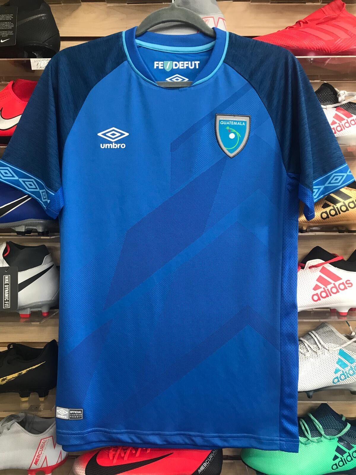 Umbro Guatemala 2019 Fútbol Jersey nueva playera de Guatemala 2019 Talla XL