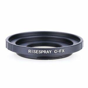 C-mount-Movie-Film-Lens-to-Fujifilm-Fuji-FX-X-Mount-X-PRO1-Camera-adapter-ring-B