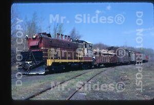 Original-Slide-Copper-Range-Railroad-Baldwin-DS4-4-1000-101-Action-In-1972