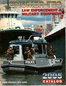 Rare Shower-Tec Magazine SPECIALTY Law Enforcement & Military Equipment 2005