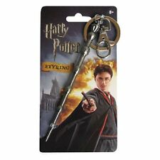 Harry Potter New * Dumbledore's Wand * Pewter Key Chain Key Ring Keychain Magic