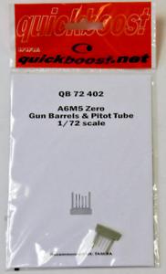 Quickboost A6M5 Zero, Gun Barrels, Pitot Tube Upgrades in 1/72 402 ST