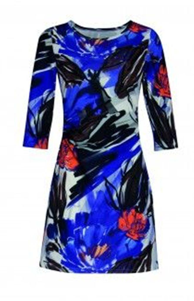 Smashed Lemon bluee Floral Dress 16116 03 Size UK20 BNWT
