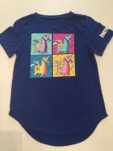 NEW Junior/'s Fortnite Tee Bunny Trouble Women/'s T-Shirt in Royal Blue