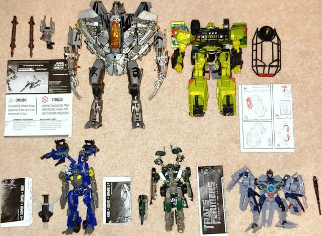 Lot of 5 Transformers Movie 2007 Revenge of the Fallen & Dark of the Moon