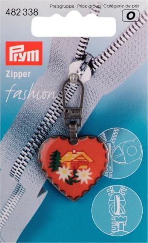 482338 Alpen Herz 1 Fashion Zipper Nr Haus  Reißverschluß  Prym Verschuss
