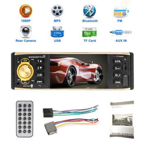 Autoradio 1 DIN de coche MP3 bluetooth manos libres car radio USB SD AUX MANDO
