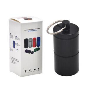 HONEYPUFF-Stash-Jar-Airtight-Smell-Proof-Aluminum-2-Layers-Container-Black