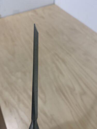 Details about  /Vintage  Marples 1//4/'/' Wide Blue Chip Woodworking Bevel Edge Paring Chisel UK