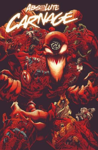 Absolute Carnage #3 Main cover Marvel Comic 1st Print 2019 NM
