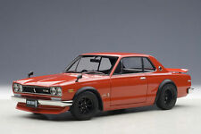 Autoart NISSAN SKYLINE GT-R KPGC10 TUNED VERSION RED 1:18*New*