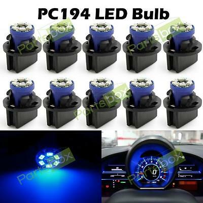 10) PC168 PC161 FOR GM Instrument Panel Cluster Led Light Bulb Lamp Dashboard
