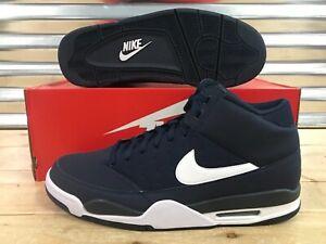 the latest 22bca 89edf Nike Air Flight Classic Shoes Obsidian Blue White SZ 13 ( 414967-411 ...