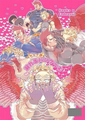 Oboreru pancake NEW!! Endeavor x Hawks My Hero Academia YAOI Doujinshi