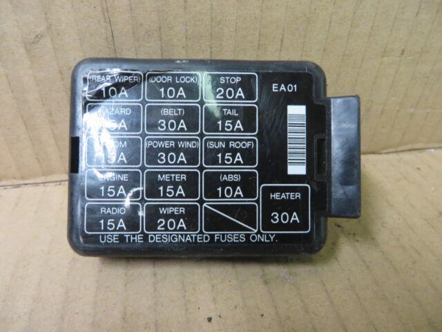 1994 Mazda Mx3 Fuse Box Diagram - House Wiring Diagram Symbols •