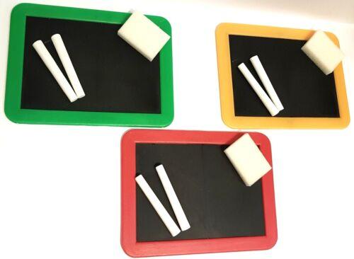 Kreide Mitgebsel Mitbringsel Kleine Kindertafel ca 13 X 18 cm Schwamm
