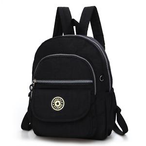 Waterproof-Mini-Backpack-Women-Purse-Nylon-Shoulder-Rucksack-Small-Travel-Bag