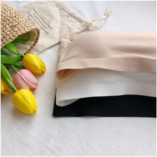 Women Ladies Strapless Seamless Bandeau Bra Boob Tube Comfort Tops Underwear UK