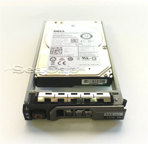 """400-AJQD Dell 1.2TB 10K SAS 2.5/"""" Hard Drive PowerEdge T330 T430 T530 T630 T730"""