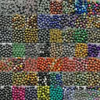 Wholesale Natural Gemstone Round Ball Spacer Loose Beads 4mm 6mm 8mm 10mm 12mm