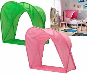 Image is loading IKEA-SUFFLETT-CHILDREN-039-S-BED-TENT-CANOPY-  sc 1 st  eBay & IKEA SUFFLETT CHILDRENu0027S BED TENT/ CANOPY- FOR KIDS SINGLE BED ...