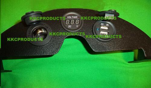 2017 KLR650 KLR 650 BL NHNS Lower Dash Panel 12v USB Voltmeter Kawasaki