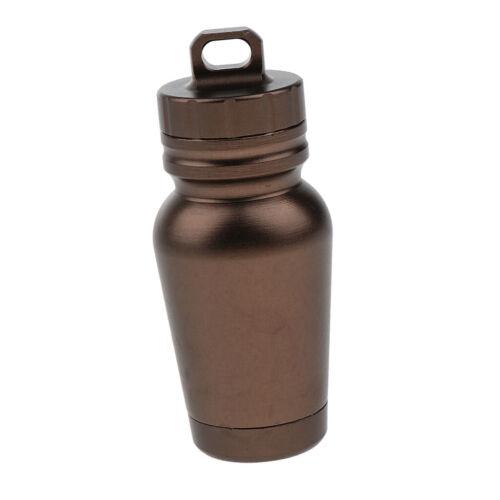 Schlüsselanhänger Tablettenbox Mini Pillen Dose Pillenbox für Outdoor,