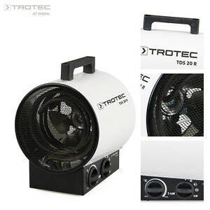 TROTEC-TDS-20-R-Elektroheizer-Bauheizer-Heizgeraet-Heizluefter-Zeltheizung-3-kW