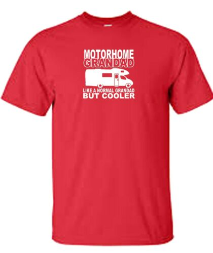fast and free delivery motorhome grandad t shirt