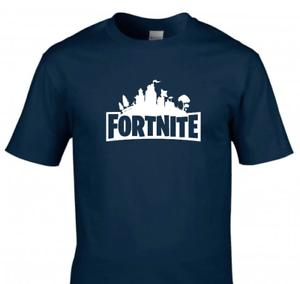 Fortnite Inspired Kids T-Shirt Boys Girls Gamer Gaming Tee Top