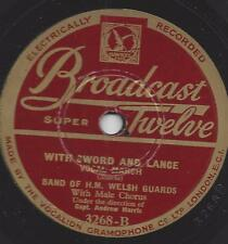 Englische Marschmusik + Gesang  1940 : With Sword and Lance + Song of the Brave