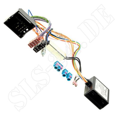 diversity din antenas adaptador Seat Quadlock can bus Interface borna 15 radio