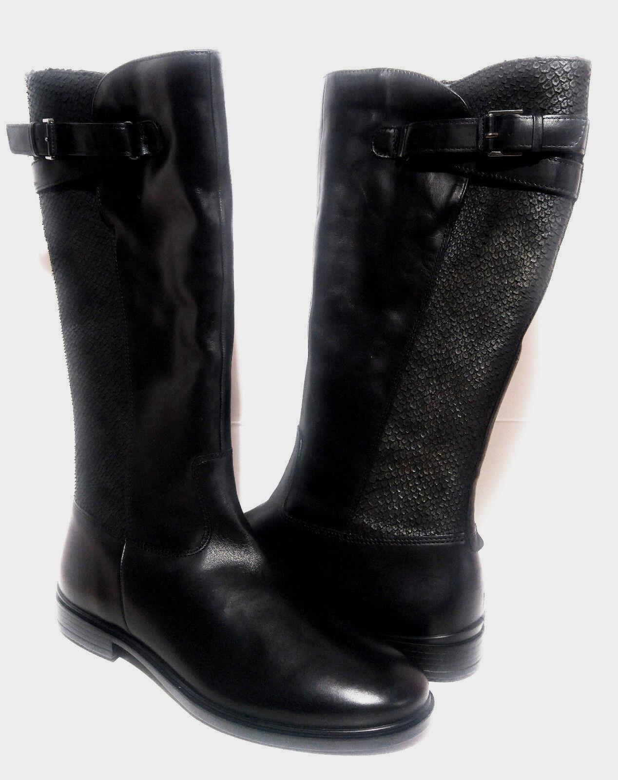 ahorra hasta un 70% Ecco Touch 15 15 15 B Wome's cuero botas talla. nos 9-9.5 Negro Nuevo Envío gratuito  minoristas en línea