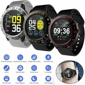 Bluetooth Smart Watch Activity Tracker Heart Rate Blood Pressure for Men Women