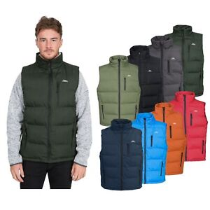 Trespass-Clasp-Mens-Padded-Gilet-Vest-Body-Warmer-In-Black-Blue-Red-Grey-Green