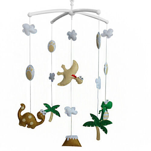 Dinosaur Cute Crib Mobile Infant Bed Hanging Bell Crib Musical Toy