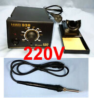 HAKKO 936 220V Soldering Station for 5 pins 907 Iron 24V 60W A1321 Heater Set